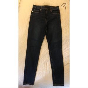 BLANKNYC high-waisted skinny jeans, size 29